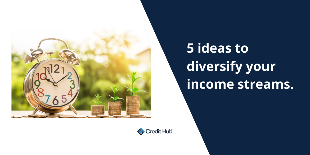 5 ideas to diversify your income streams